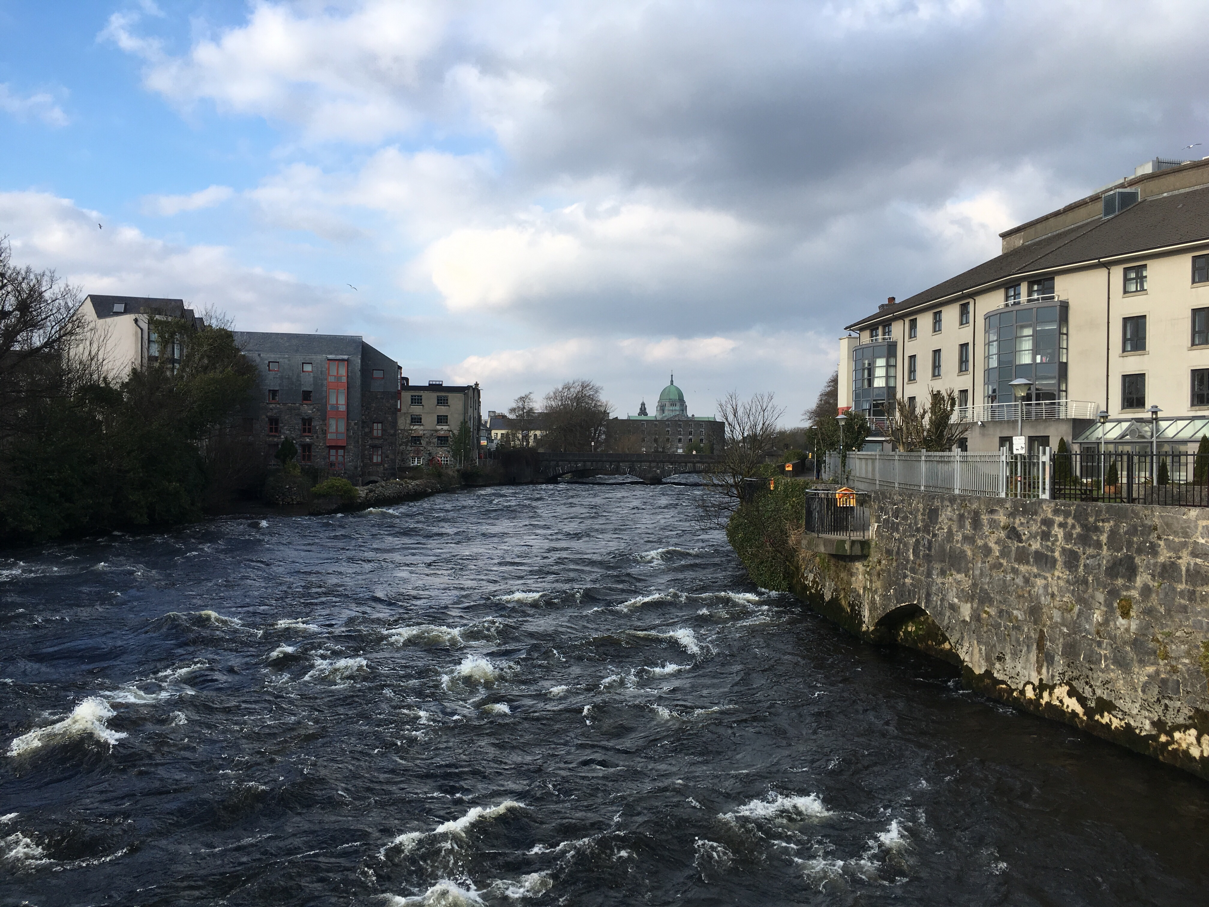 The River Corrib in Galway